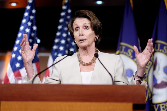 Nancy Pelosi Holds Weekly News Conference