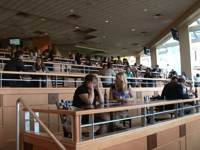 students terrace