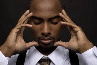 blackman-meditating