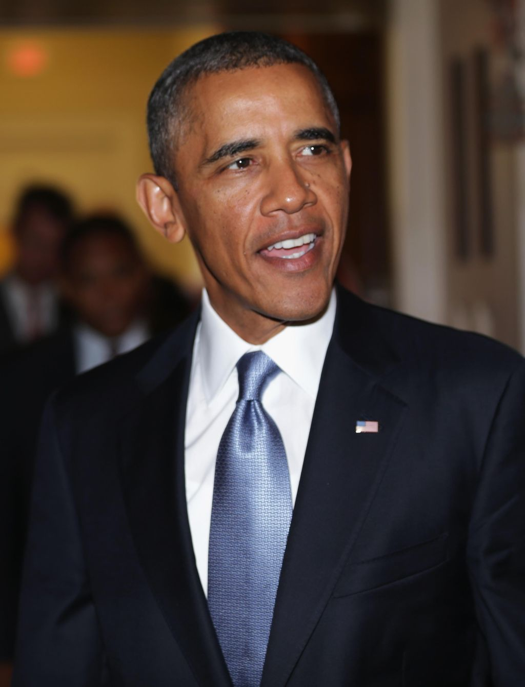 President Obama Meets With Senate Democrats And Republicans On Capitol Hill