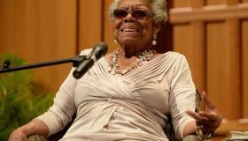 Dr. Maya Angelou Speaks At Congregation B nai Israel
