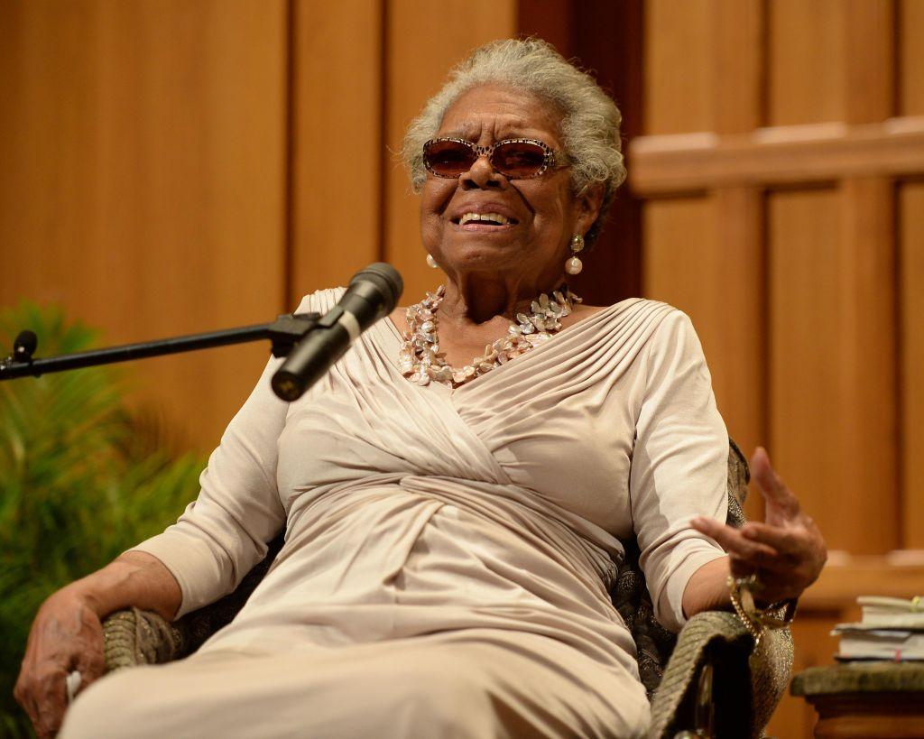 Dr. Maya Angelou Speaks At Congregation B nai Israel