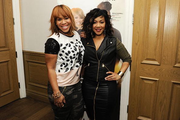 Erica and Tina Campbell