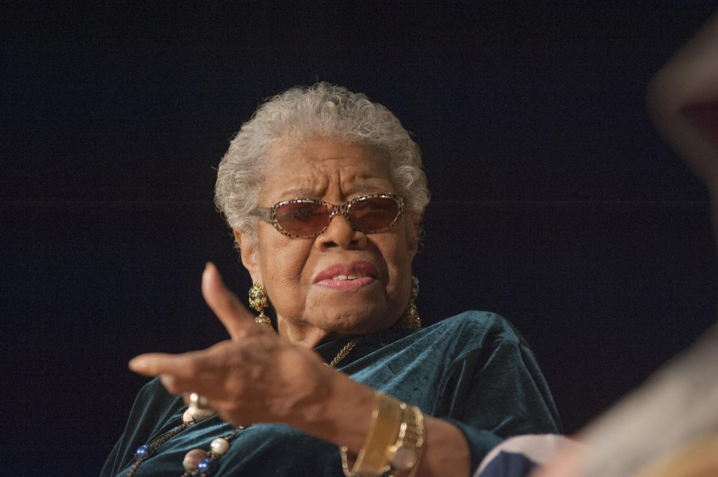 Smithsonian National Museum Of African Art's Director's Discussions Series - Maya Angelou