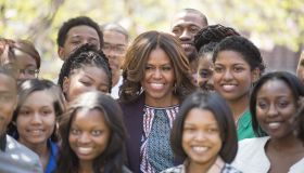 First Lady Michelle Obama visits Howard University