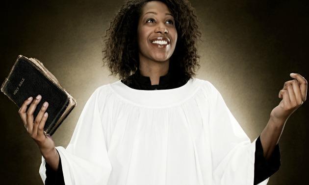 Black woman preacher