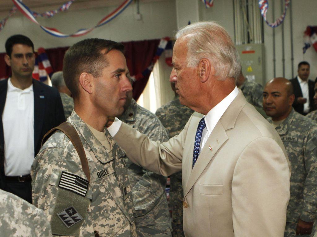 U.S. Vice President Joe Biden, right, ta