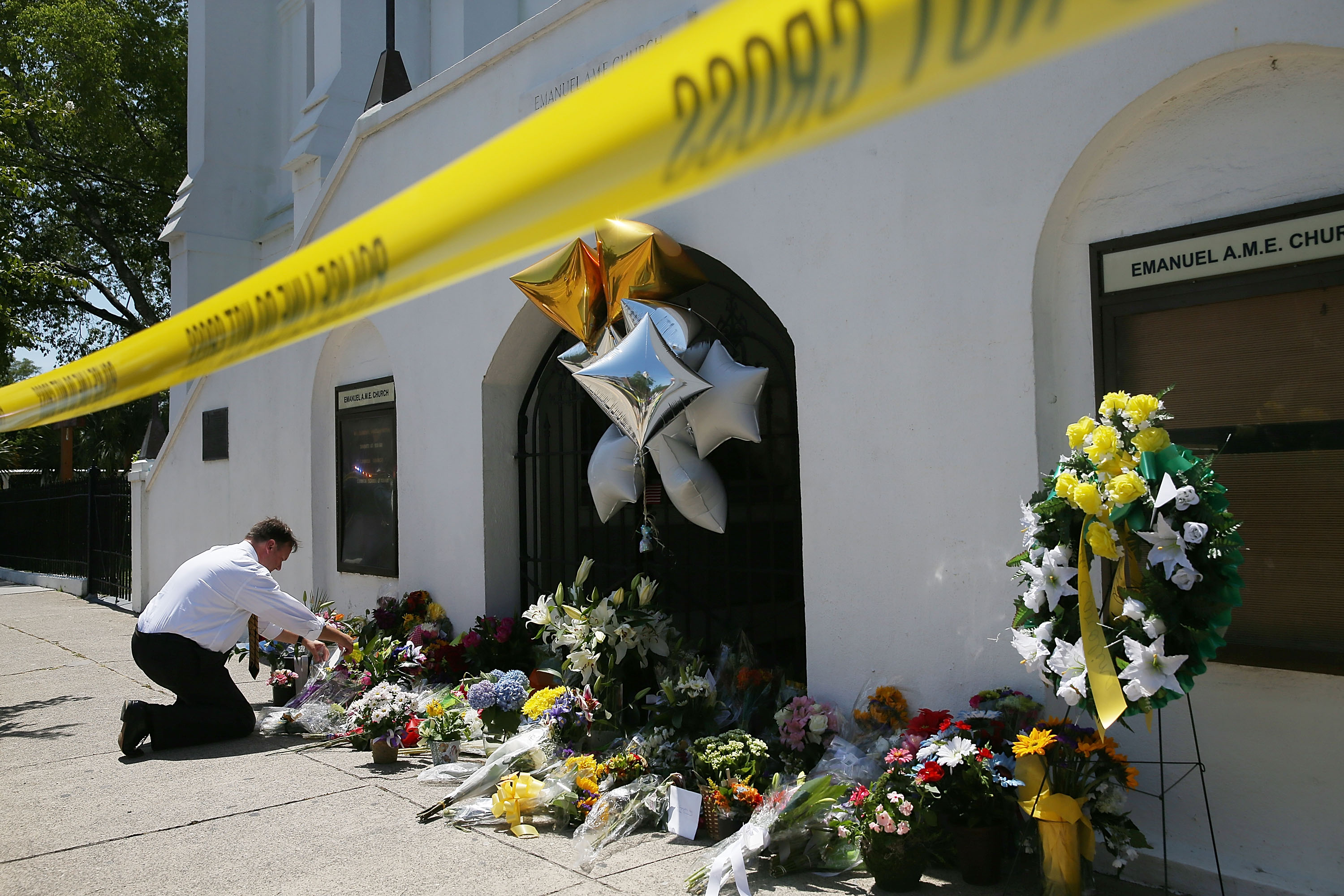 Nine Dead After Church Shooting In Charleston