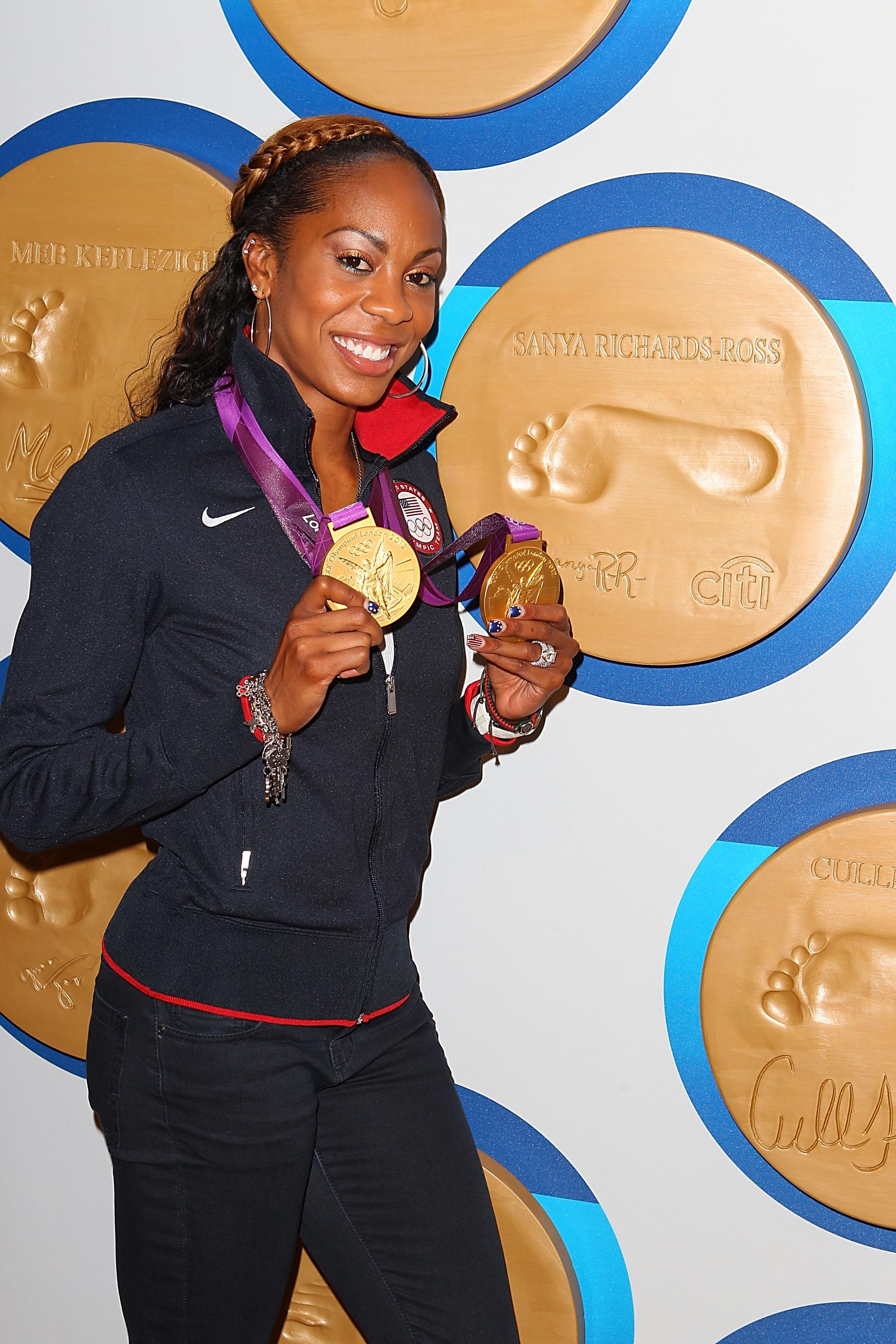 Citi Present US Olympic Medalists - Sanya Richards-Ross and Christie Rampone
