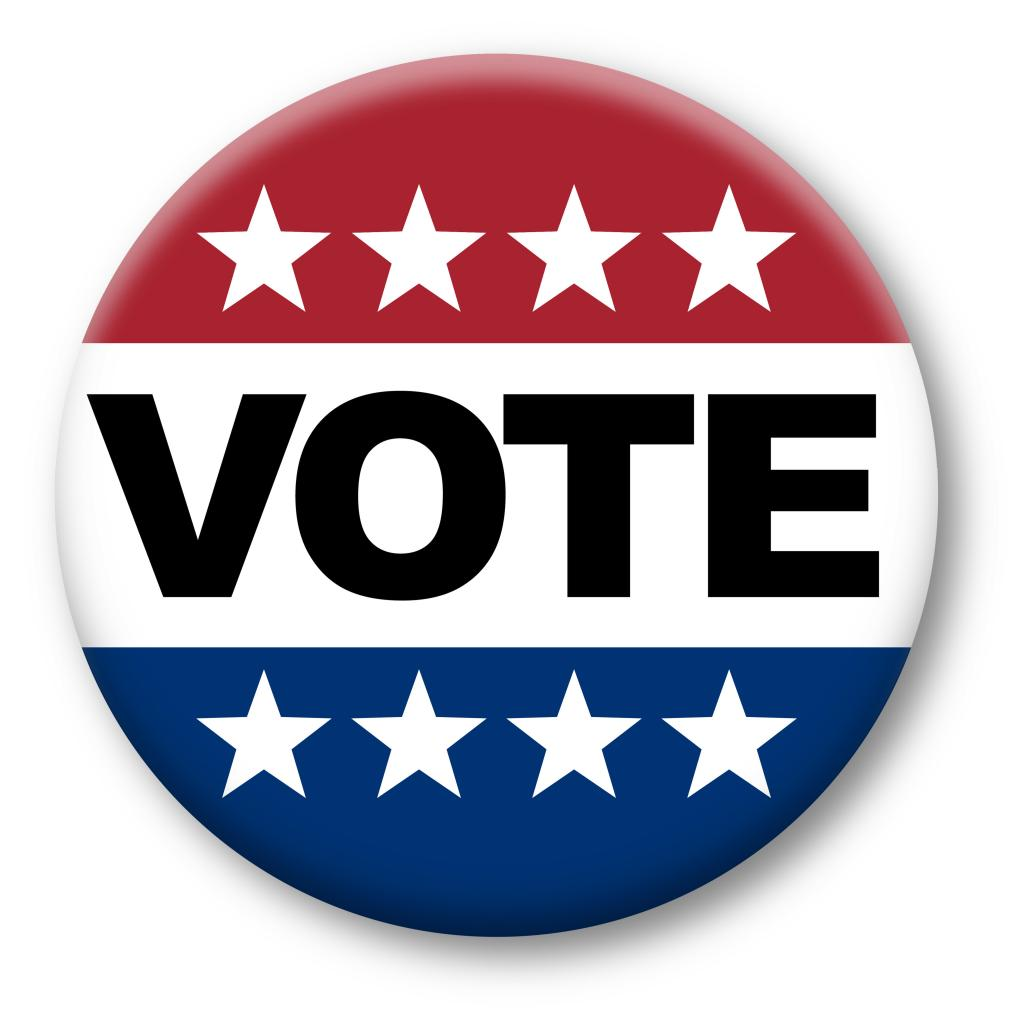 A vote button.