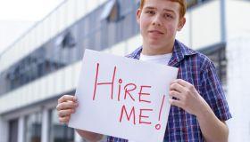 Teenage university student looking for work