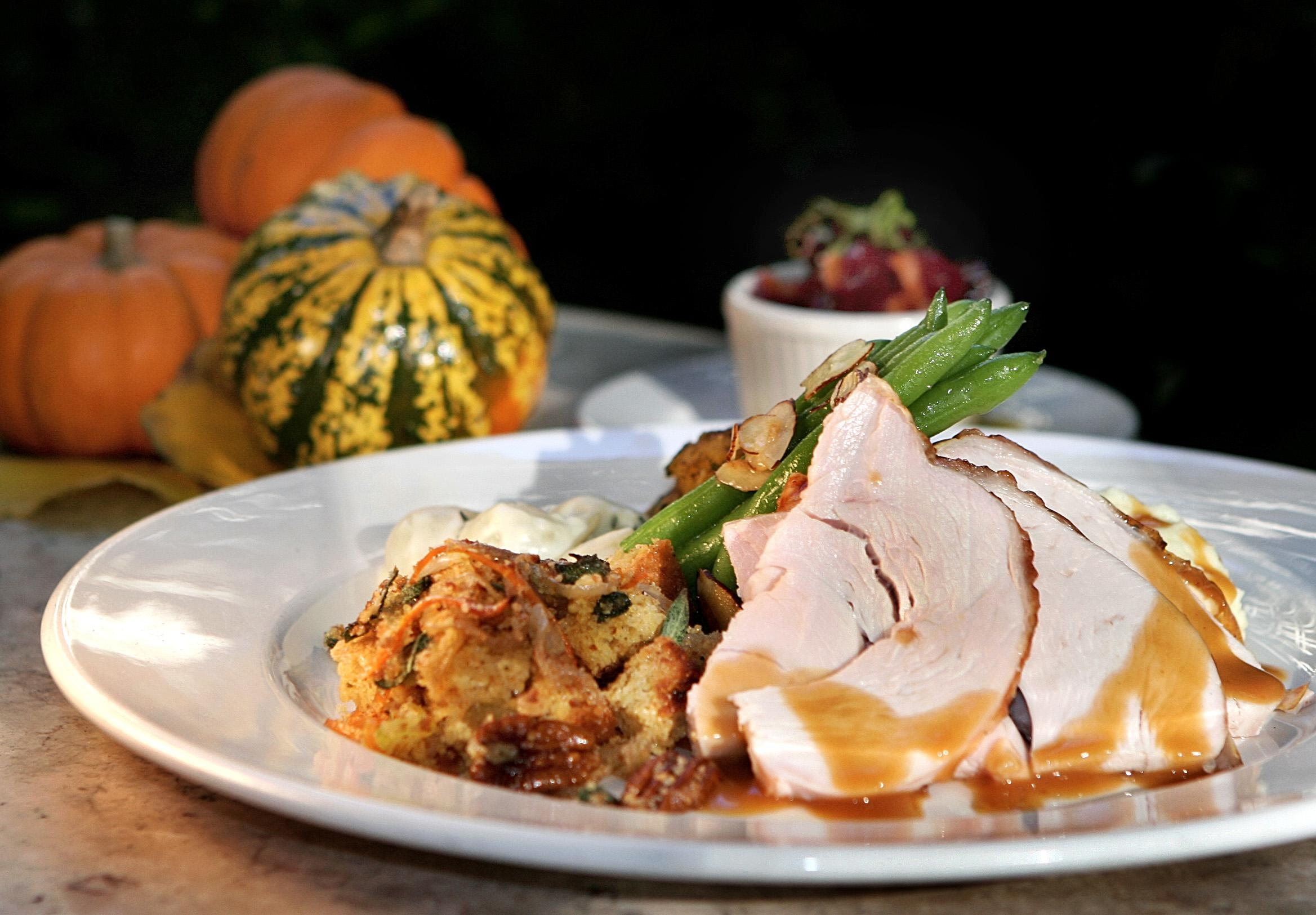 Thanksgiving Dinner At The Harvest In Cambridge