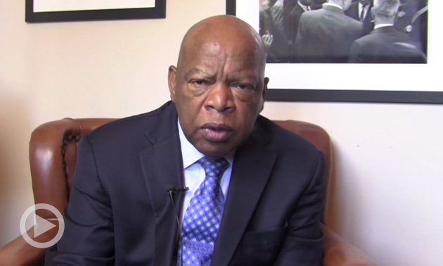 Congressman John Lewis: The Torch, The Symbol Of Our Contribution As A People Is Passed Onto You