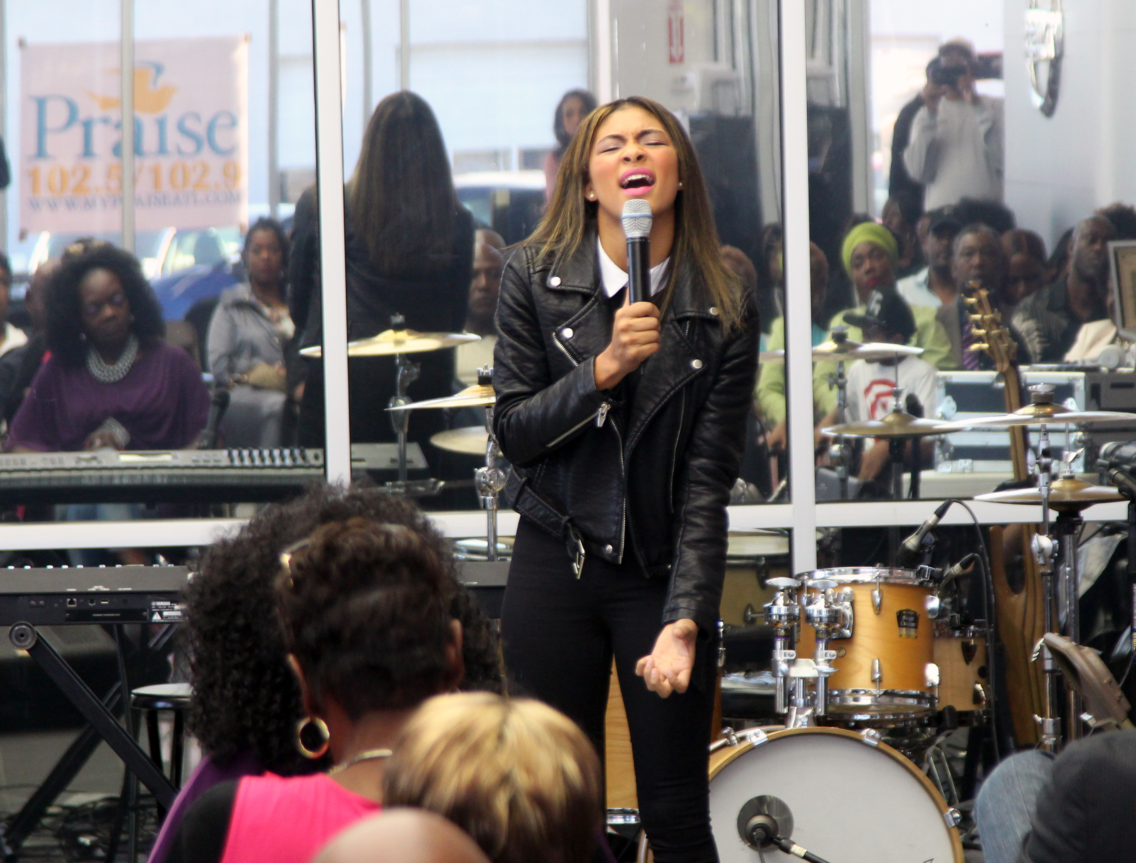 Briana Babineaux Performs At Gospel Jazz Live