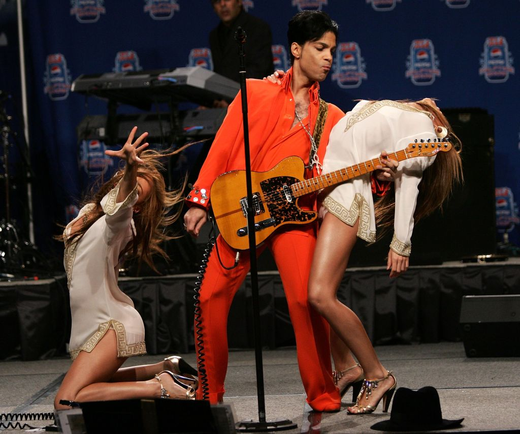 Super Bowl XLI Half-Time Press Conference Featuring Prince