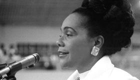 Coretta Scott King Speaks