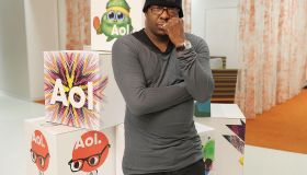 Bobby Brown Stops By The AOL Studio In NY For AOL Music Interview