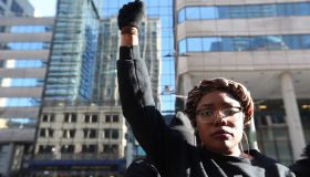Black Lives Matter rally at Toronto Police Headquarters at 40 College
