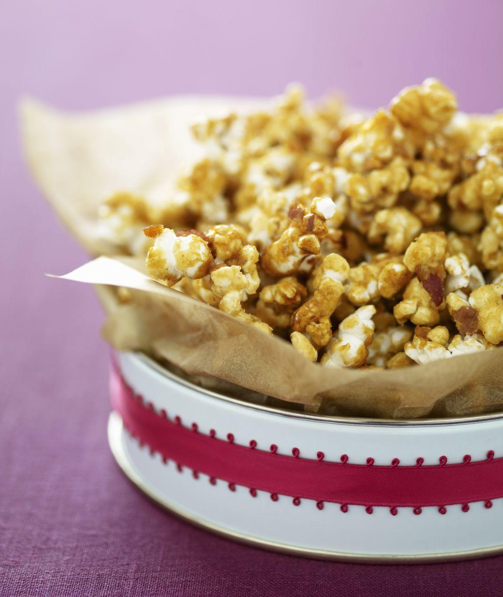 Gift of homemade caramel popcorn
