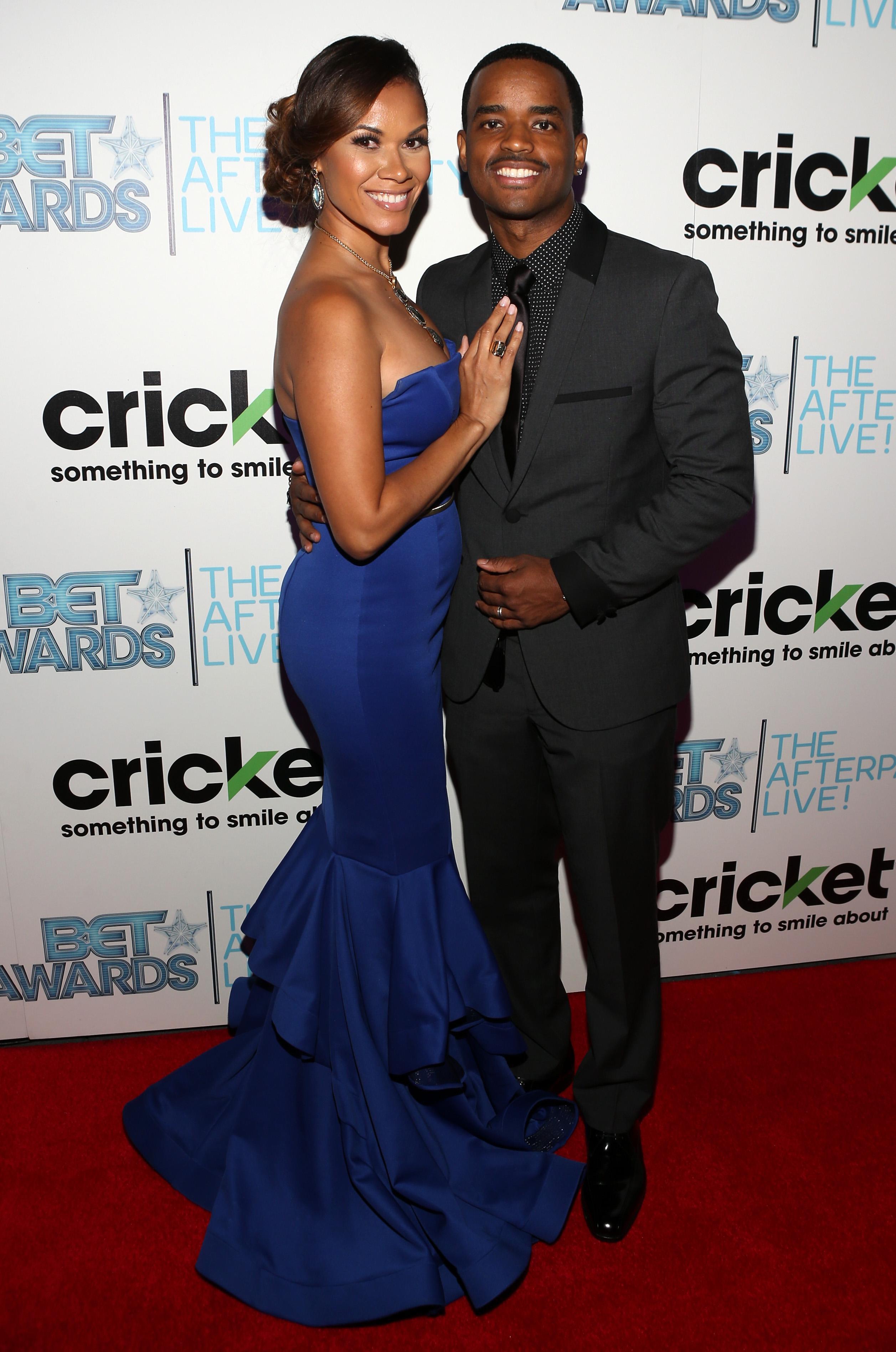 Larenz Tate Celebrates 10 Years Of Marriage His Real Life Love Jones Praise Cleveland Choisissez parmi des contenus premium tomasina parrott de la plus haute qualité. larenz tate celebrates 10 years of