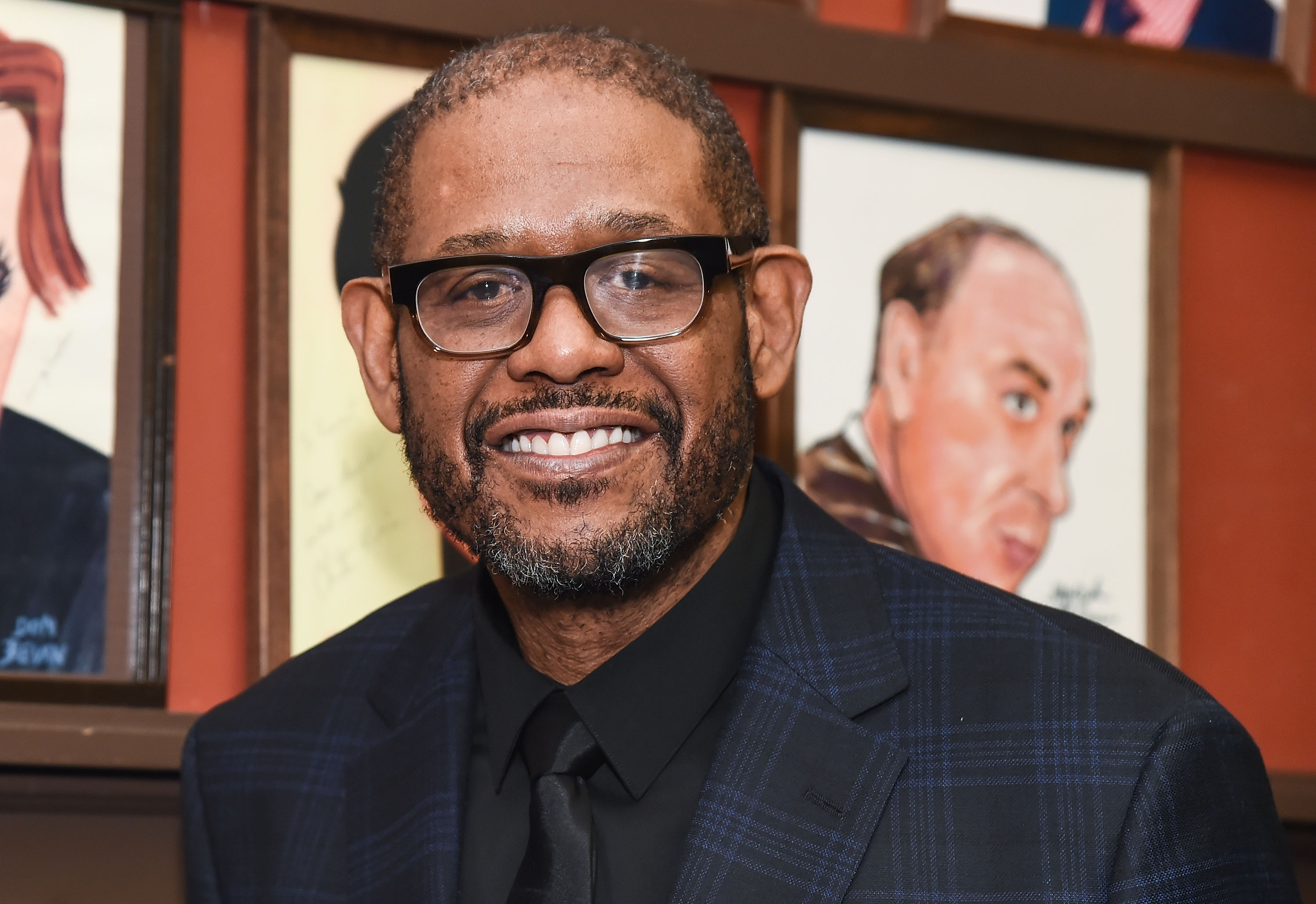 Forest Whitaker's Sardi's Portrait Unveiling