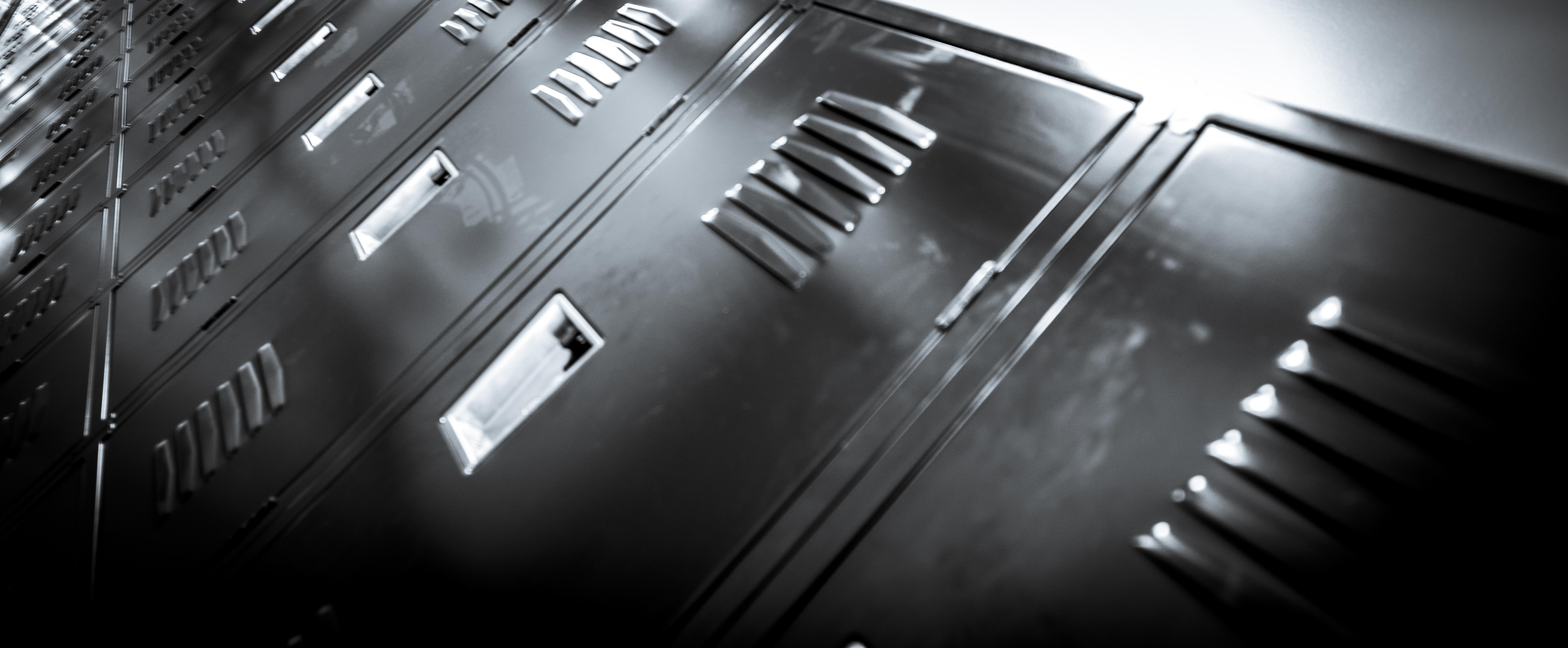 School Lockers in New Building