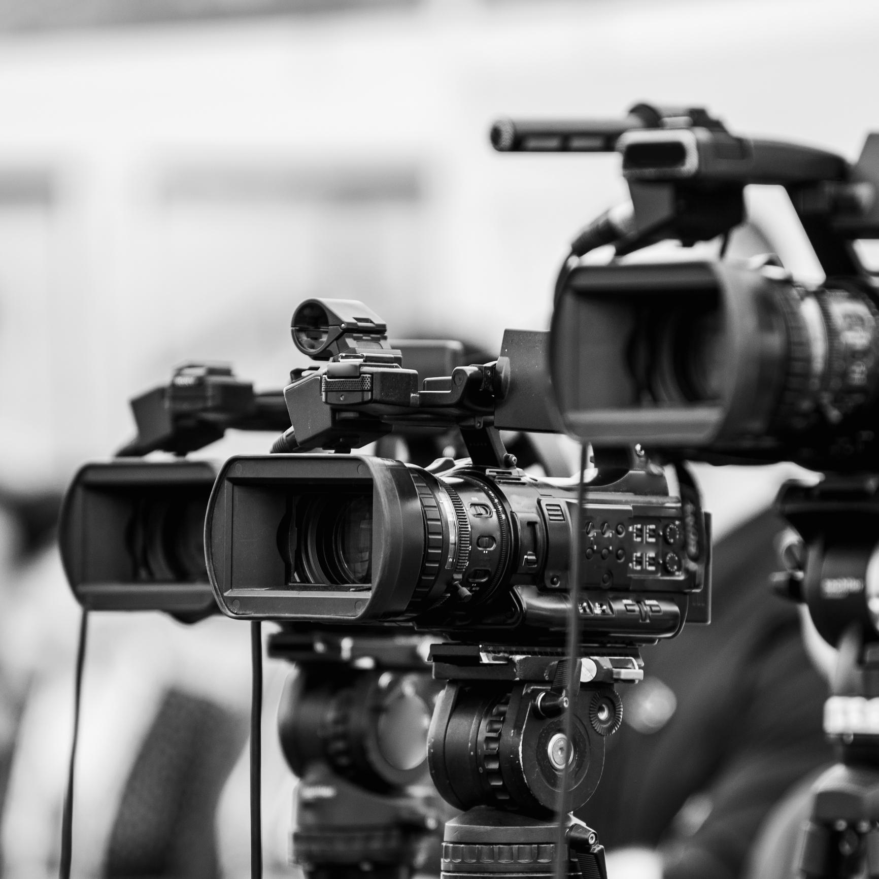 Close-Up Of Cameras