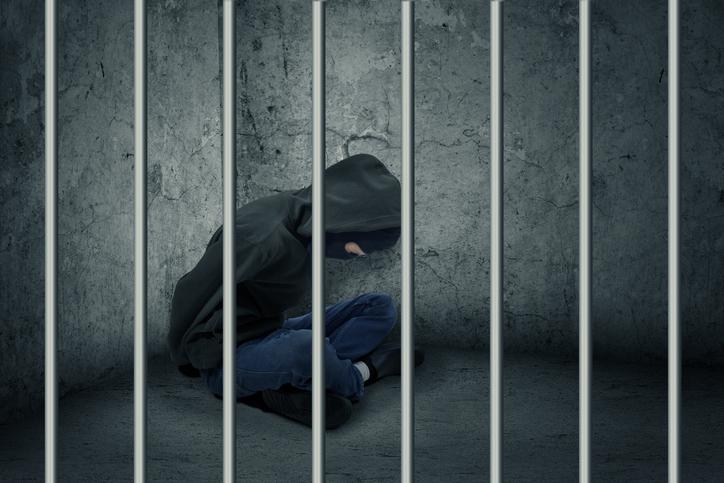 Thief Sitting In Prison