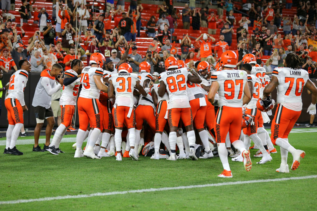 NFL: AUG 08 Preseason - Washington Football Team at Browns