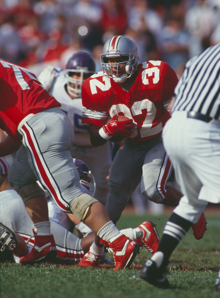 Northwestern University Wildcats vs Ohio State Buckeyes