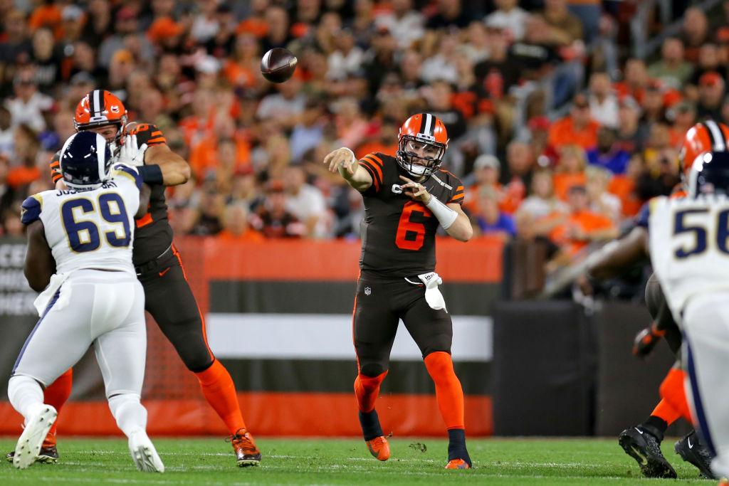 NFL: SEP 22 Rams at Browns