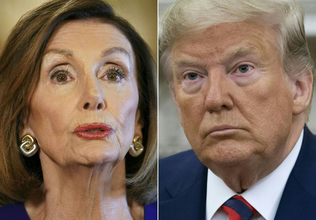 COMBO-us-politics-impeachment-pelosi-trump-AUSTRALIA-DIPLOMACY