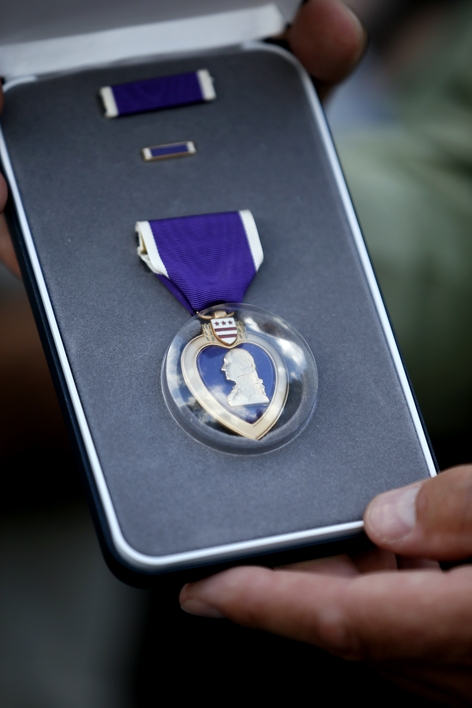 Stephen Dufeck never received the Purple Heart for wounds he suffered in Vietnam during an enemy rocket and mortar attack. Now, 45 years later, he will finally get the honor he deserved.] JERRY HOLT • jerry.holt@startribune.com