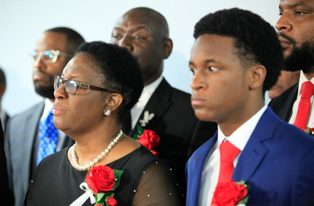 Funeral Held For Botham Shem Jean, Who Was Killed By Dallas Police Officer Amber Guyger When She Entered Wrong Apartment