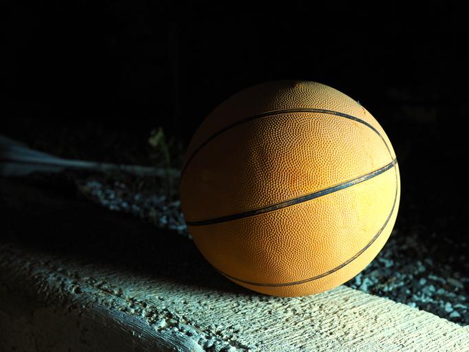 Close-Up Of Basketball