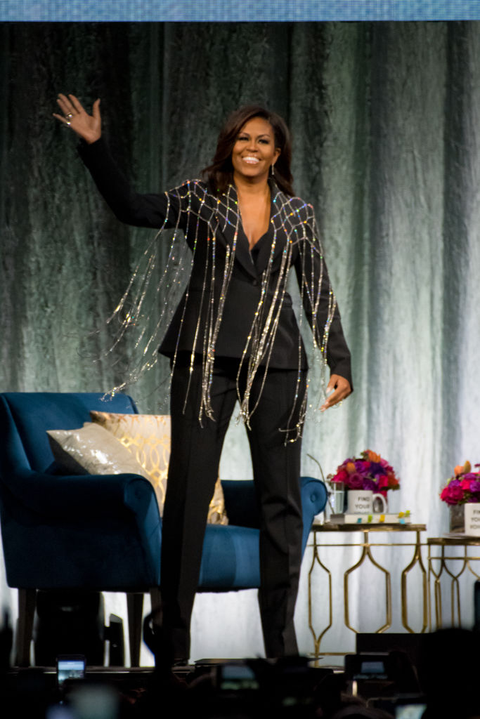 Toronto hosted former First Lady, Michelle Obama, as she...
