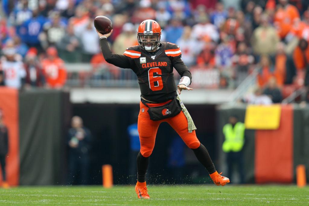 NFL: NOV 10 Bills at Browns