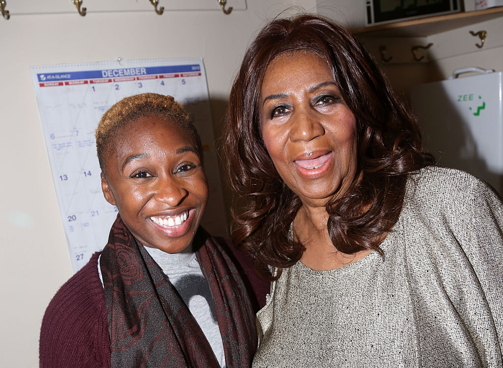 Celebrities Visit Broadway - December 15, 2015