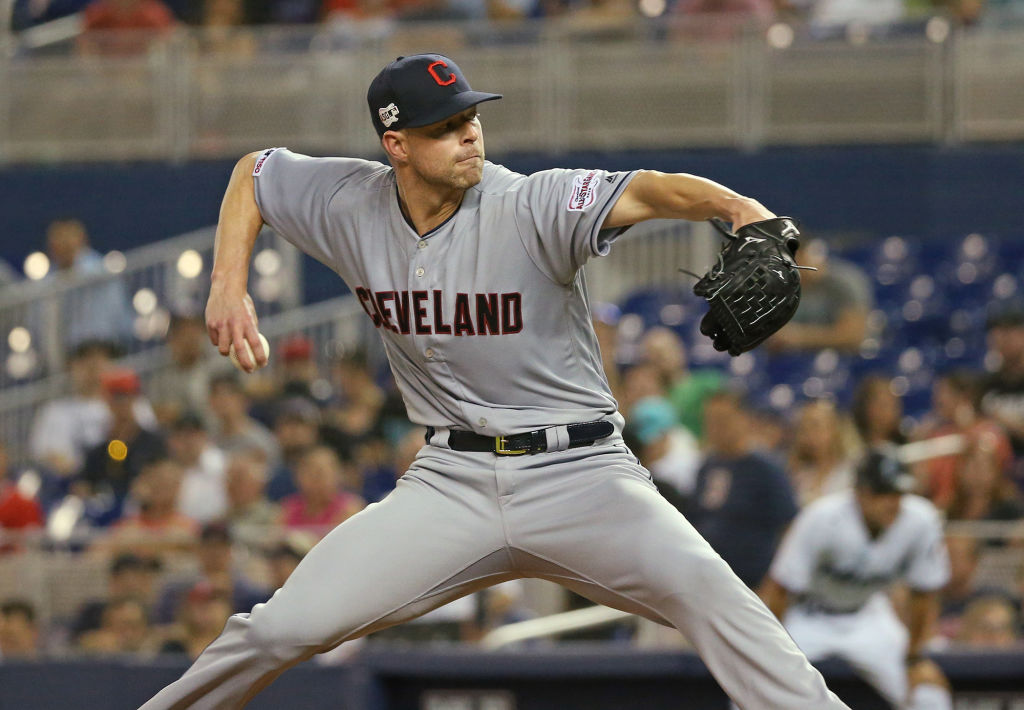 Texas Rangers trade with Cleveland Indians for two-time Cy Young winner Corey Kluber