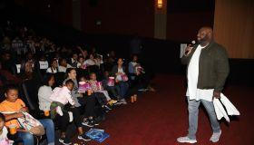Pastor John Gray Hosts Warner Bros Screening Of 'Smallfoot'