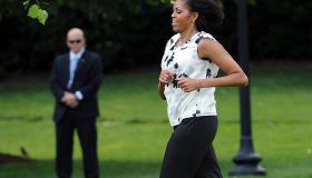 US First Lady Michelle Obama kicks off t