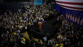 Pete Buttigieg Attends Watch Party in New Hampshire
