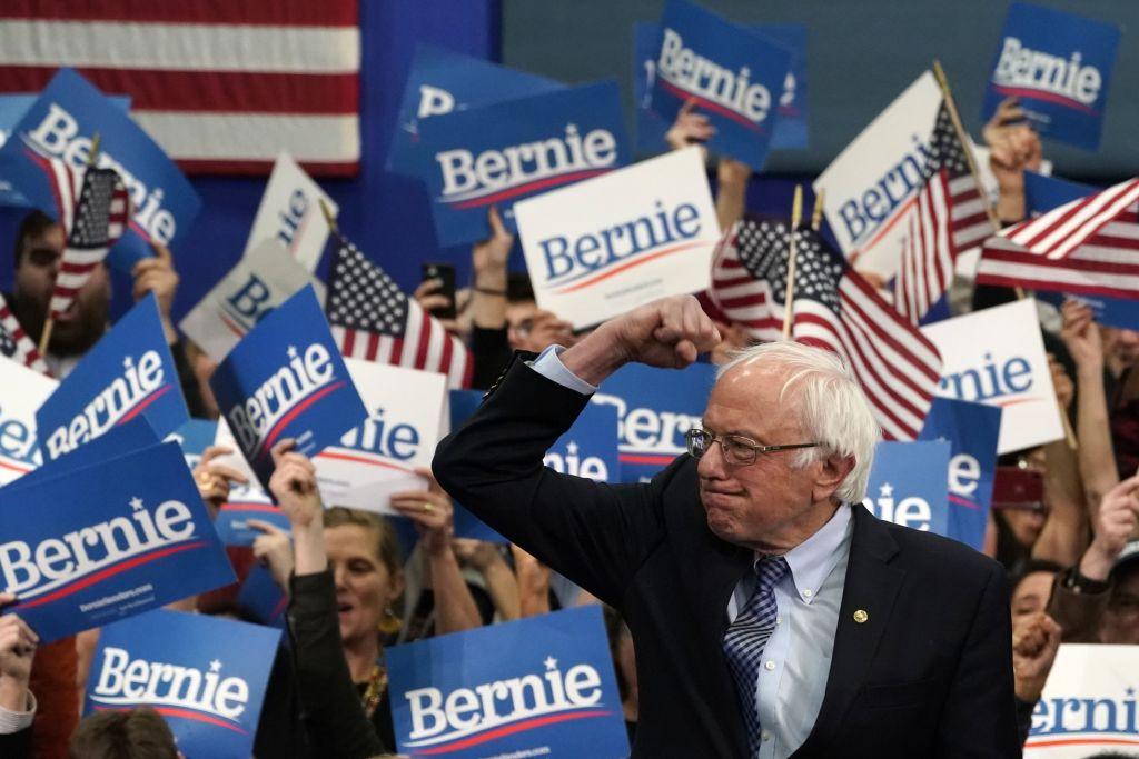 US-POLITICS-VOTE-DEMOCRATS-NEW-HAMPSHIRE-PRIMARY-SANDERS