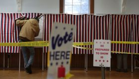 New Hampshire Residents Go To The Polls In Presidential Primary