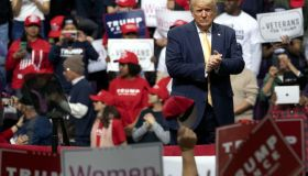 US President Donald Trump's campaign rally in Colorado