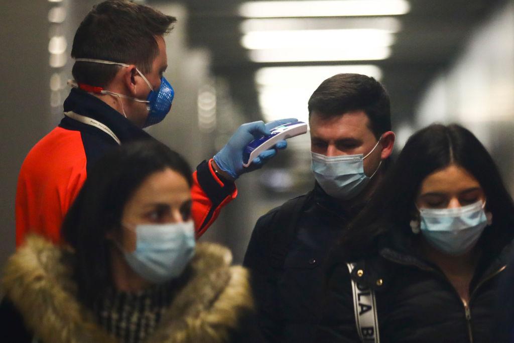 Coronavirus Precautions At Krakow Airport
