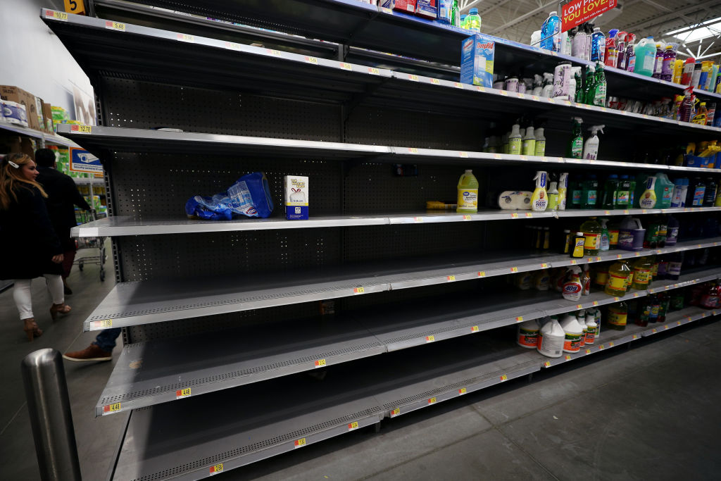 Americans stock up on supplies as coronavirus fear spreads