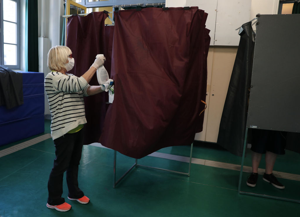 First Round Of France's Mayoral Elections