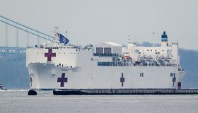 NEWS: MAR 30 Coronavirus in New York USNS Comfort