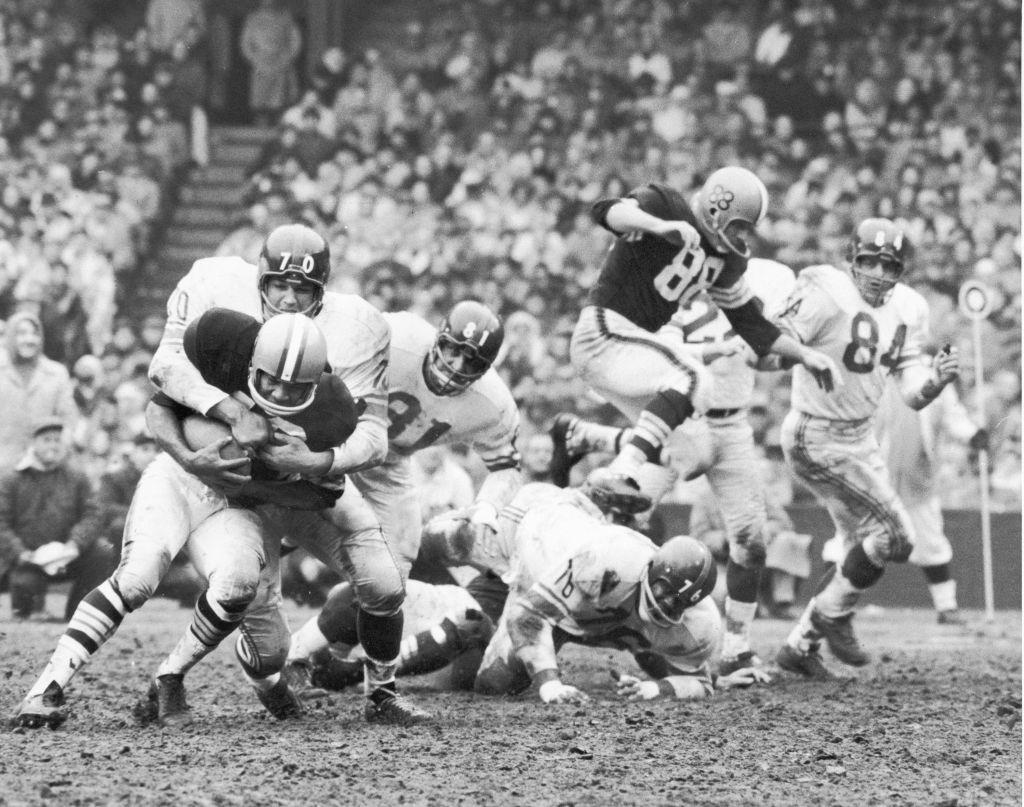 New York Giants In Action